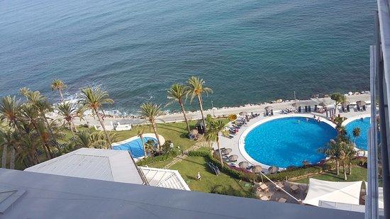 THB Torrequebrada Hotel: divina vista desde el balcón de la habitación