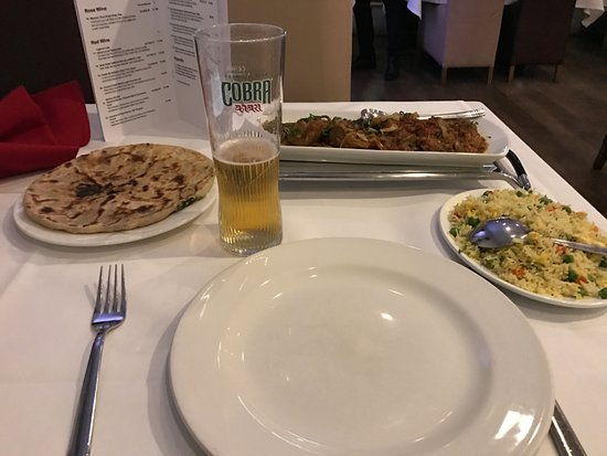High Wycombe, UK: Lamb Chennai and accompaniments