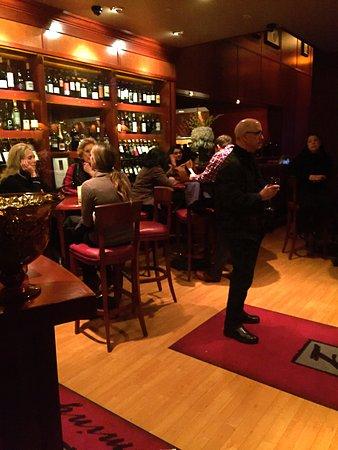 Birmingham, MI: Vestibule and part of the bar area at Flemings