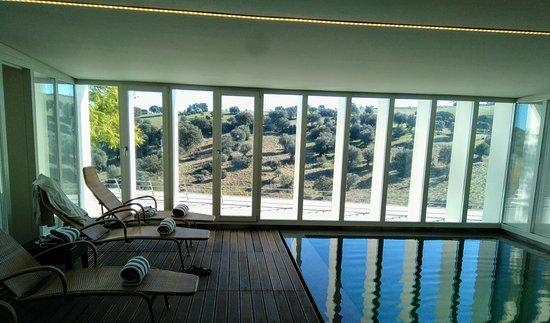 Arraiolos, Portugal: piscina interior