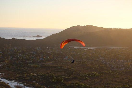 Уилдернесс, Южная Африка: Paragliding near Knysna