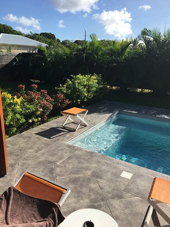 Le Moule, Guadeloupe: Le jardin