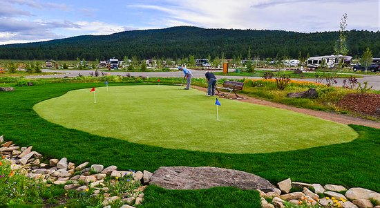 Putting Green - Angel Fire RV Resort
