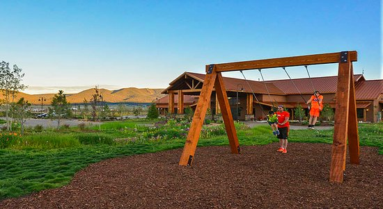 Swing/play area - Angel Fire RV Resort