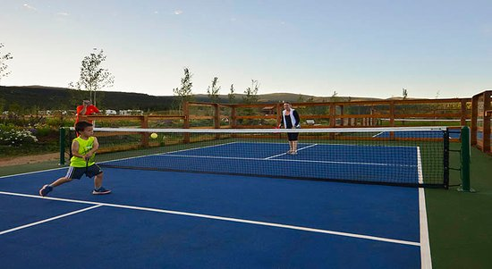 Tennis / Pickleball courts - Angel Fire RV Resort