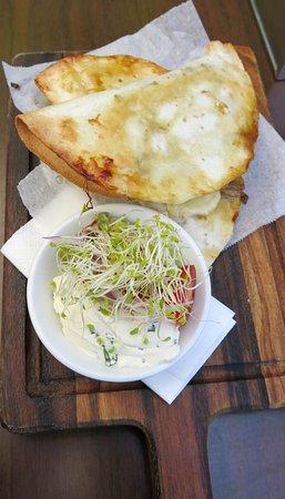 Shellharbour, Australia: Pulled pork and caramelised onion quesadillas