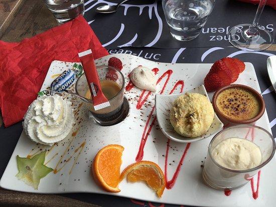 La Clusaz, Γαλλία: Un café très gourmand