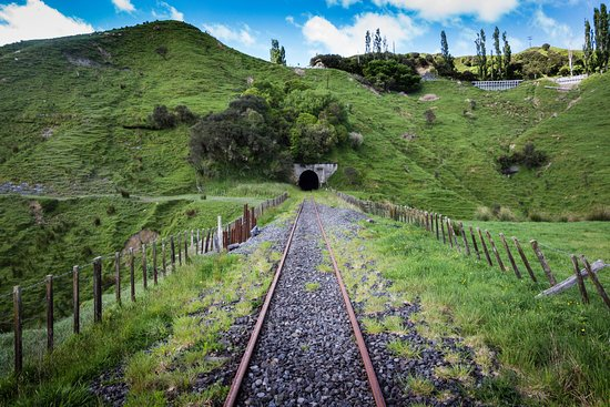 Taumarunui, نيوزيلندا: Along the rails