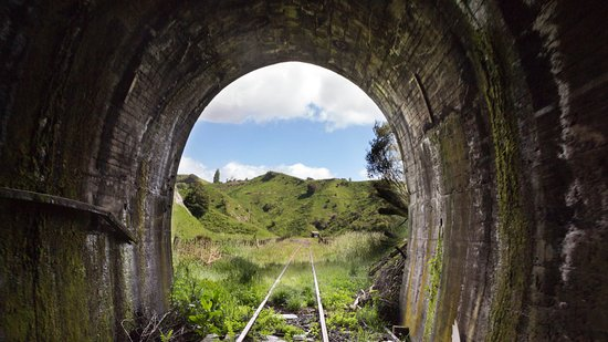 Taumarunui, نيوزيلندا: Tunnel exit
