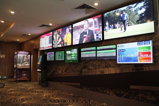Tullamarine, Αυστραλία: Gladstone Park Hotel TV's