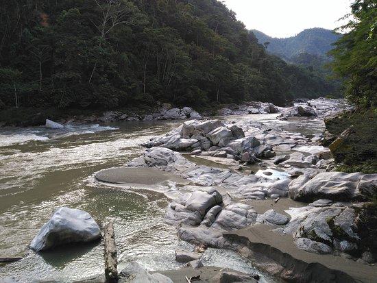 Tena, Ecuador: Laguna Azul