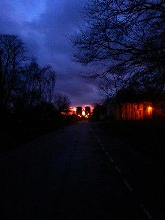 Elgin Cathedral December sunrise