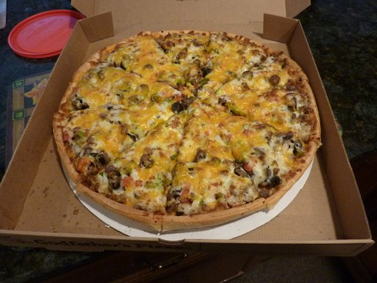 Centerville, OH: Godfather's Pizza @ home