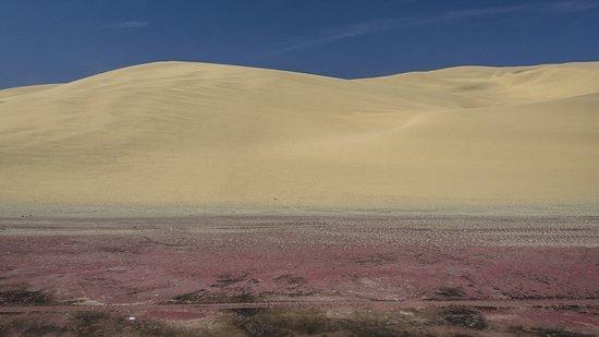 Walvis Bay, Namibia: Sand mit hohem Granatanteil