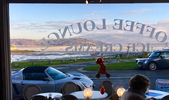 Borth-y-Gest, UK: View from inside...