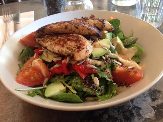 Grilled Chicken Quinoa Salad Picture Of Belgrave Cartel Manly