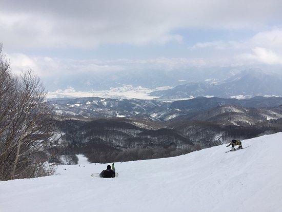 Iiyama, Japan: 滑道風景