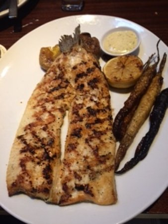 Bridgewater, Нью-Джерси: Grilled Boneless Rainbow Trout : well liked.