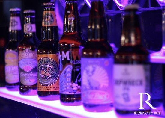 River City Pub & Patio: Craft beer