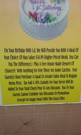Matlacha, Floride : Rules about Micheli's Birthday Program I Was DENIED