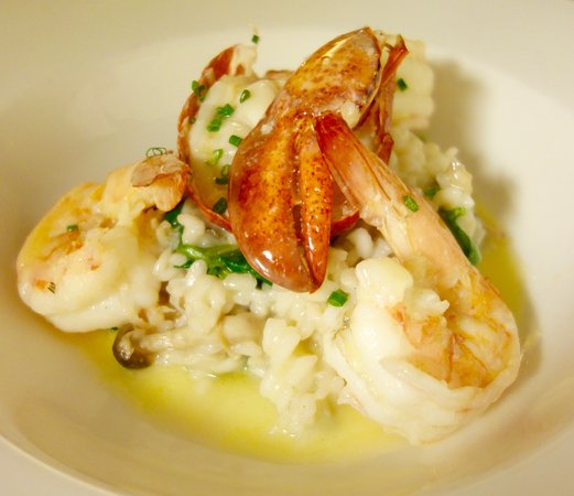 Glass Onion: Seafood Risotto