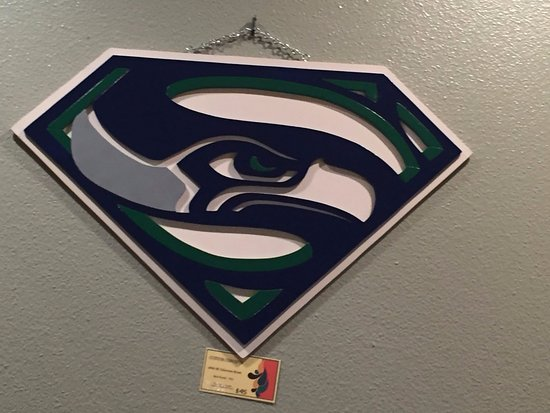 Port Orchard, Etat de Washington : super seahawks
