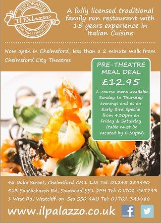 Italian Restaurant Duke Street Chelmsford