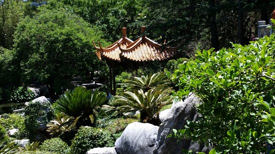 Chinese garden of Friendship Sydney, pagoda - Picture of Chinese ...