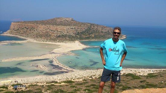 Balos Beach and Lagoon: Λιμνοθάλασσα του Μπάλου