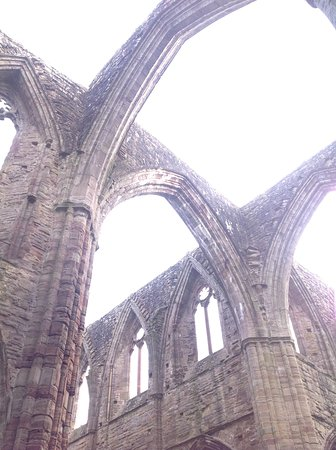 Chepstow, UK: Tintern Abbey profile