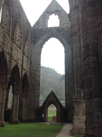 Chepstow, UK: Tintern Abbey windowless windows