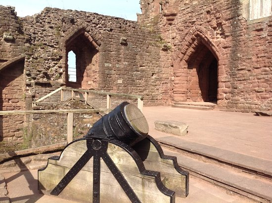 Canon at Goodrich Castle