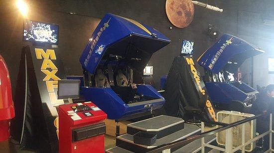 San Diego Air & Space Museum: Flight Simulators