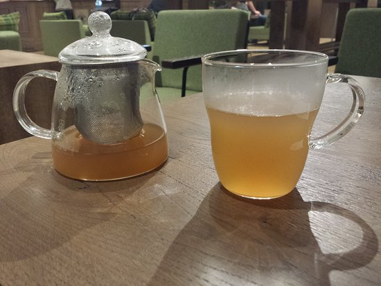 Adachi, ญี่ปุ่น: Spicy ginger tea, this one is so delicious.
