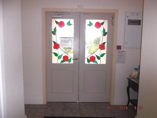 Manor Views: Entrance doors