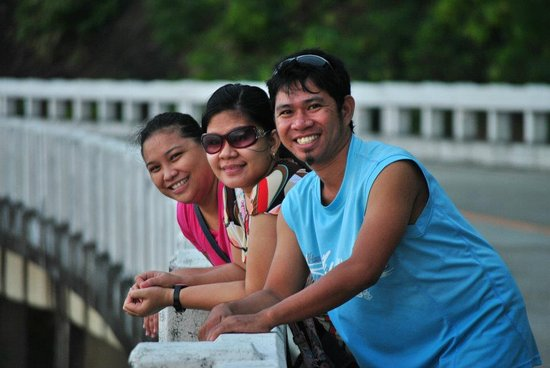 Pagudpud, Philippines: with firends