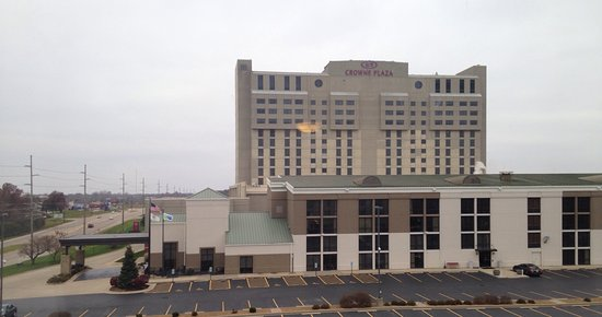 Hilton Garden Inn Springfield: The room, and the view