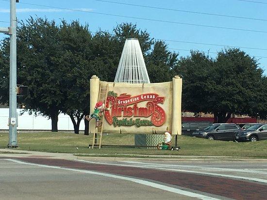 Grapevine, Teksas: The Christmas Capital of Texas!