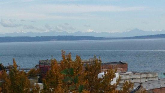 Port Townsend, Etat de Washington : Montañas al fondo