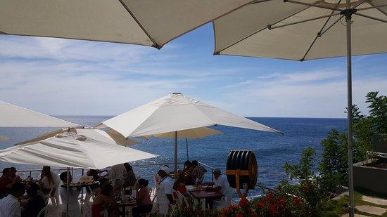 Tamanique, เอลซัลวาดอร์: My view from my table!