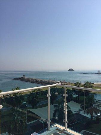 Radisson Blu Resort Fujairah: View from the suite's balcony