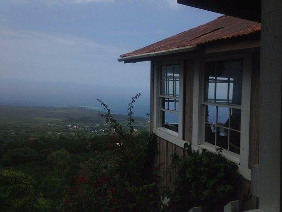Captain Cook, Hawái: 店内からの景色