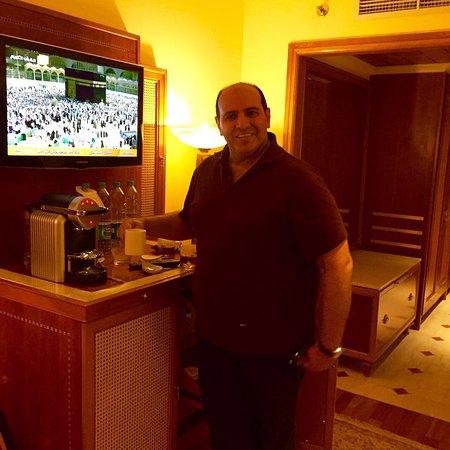 Madina Oberoi: The room and delicious Nespresso