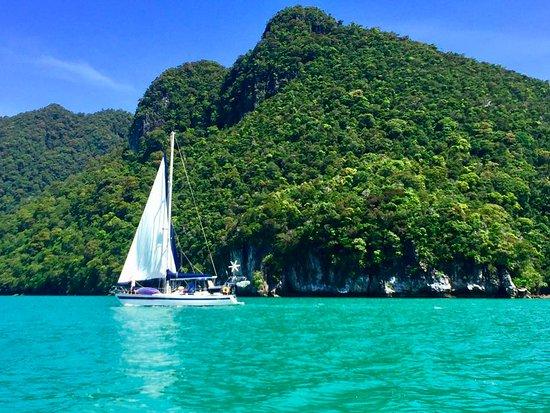 โรงแรมคาซ่า เดล มาร์: View from the Casa Del Mar day trip boat tour
