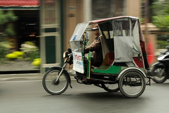 Medan - iconic Tricycle (Bentor)