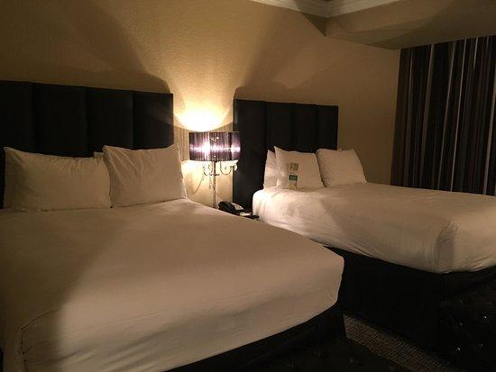 Double Queen Signature Room Beds Picture Of Westgate Las Vegas Resort Casino Las Vegas Tripadvisor