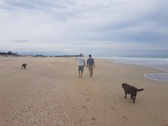 Jeffreys Bay, Sudáfrica: We had some lovely walks and talks with our host, Rory!