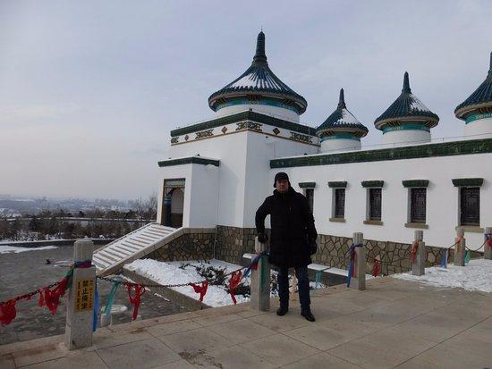 Ulanhot, Trung Quốc: Храм