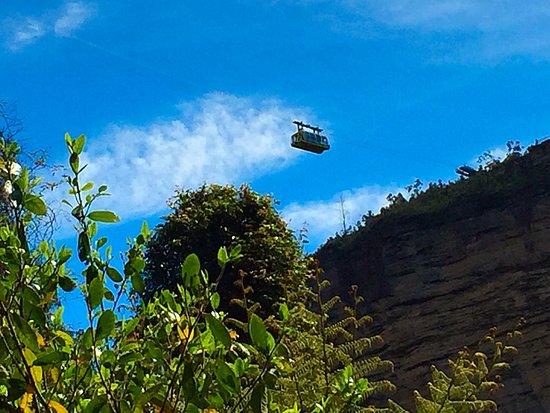 Katoomba, أستراليا: Skyway from below