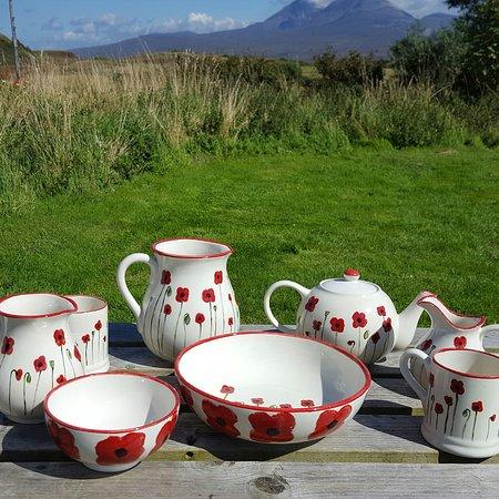 Port Askaig, UK: Persabus Pottery and Ceramic Cafe